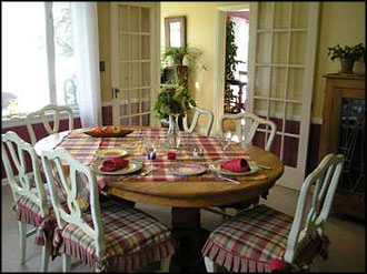 Westsound House Dining Room